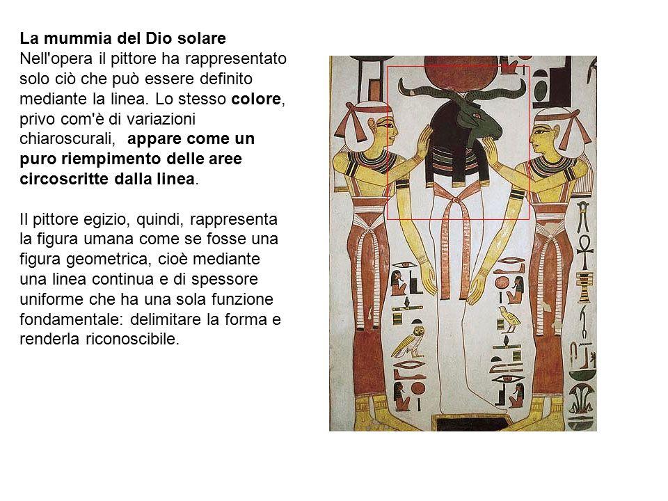 La mummia del Dio solare
