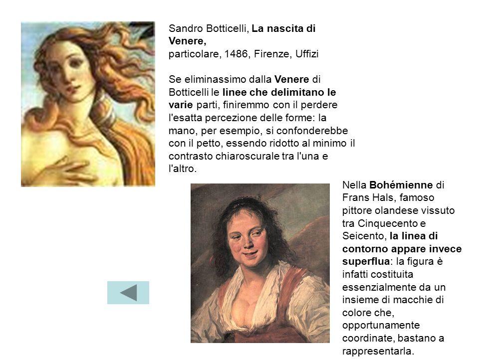 Sandro Botticelli, La nascita di Venere,