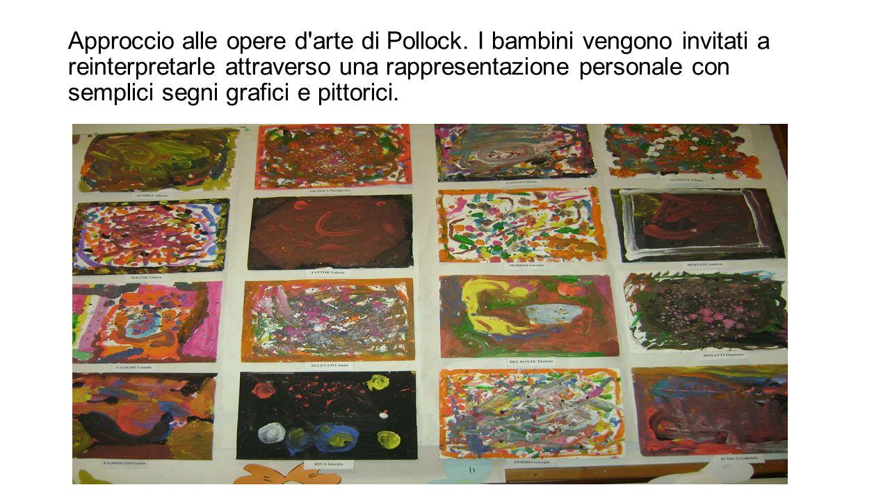Approccio alle opere d arte di Pollock