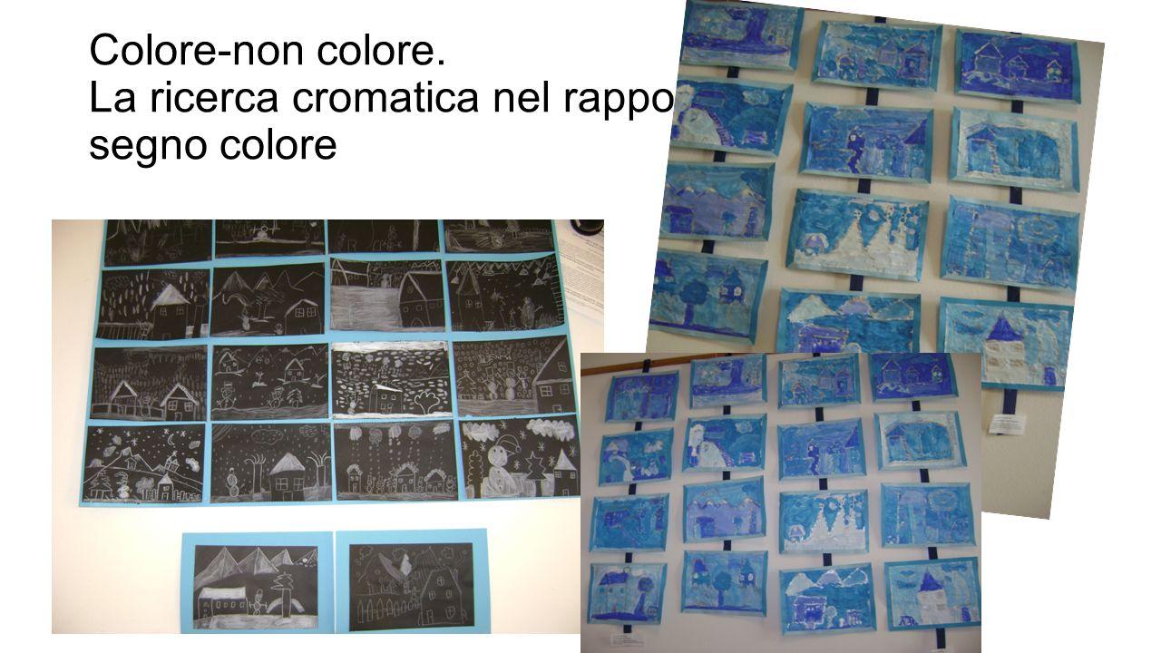 Colore-non colore. La ricerca cromatica nel rapporto segno colore