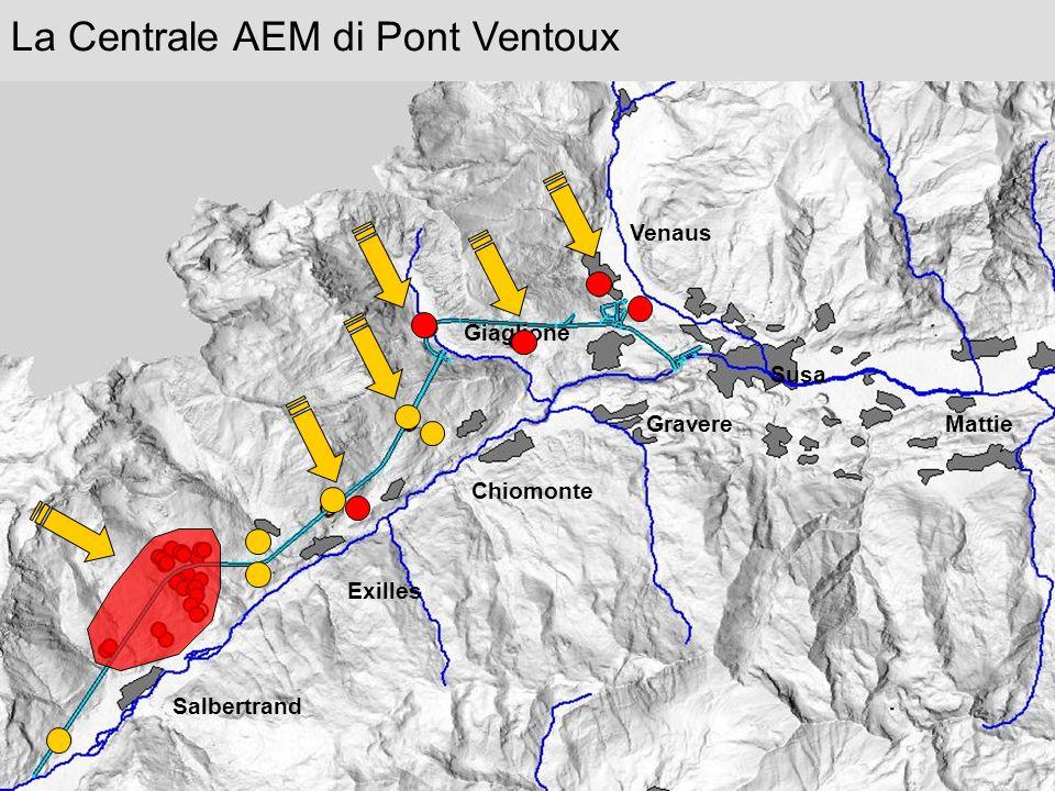 La Centrale AEM di Pont Ventoux