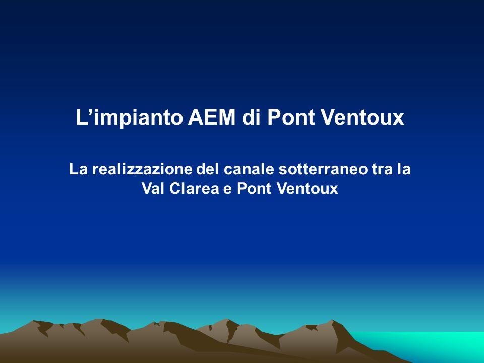 L'impianto AEM di Pont Ventoux