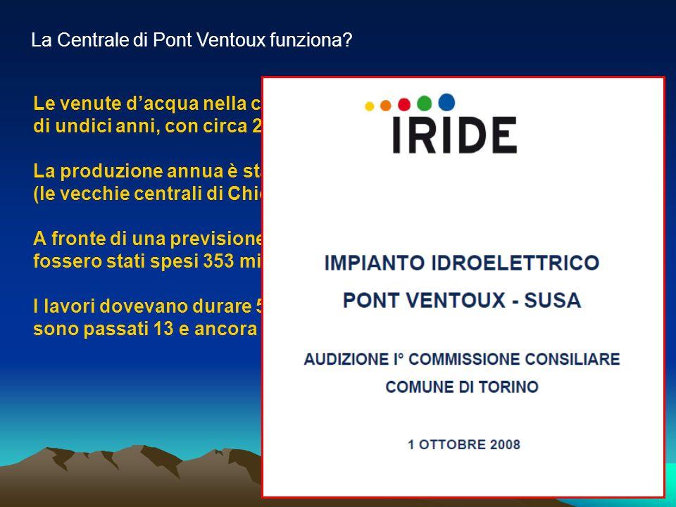 La Centrale di Pont Ventoux funziona