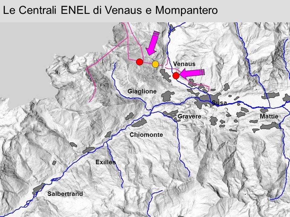 Le Centrali ENEL di Venaus e Mompantero