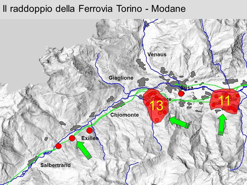 11 13 Il raddoppio della Ferrovia Torino - Modane Venaus Giaglione