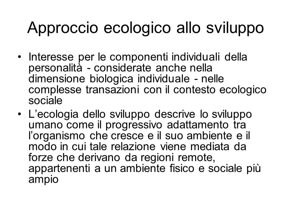 Approccio ecologico allo sviluppo