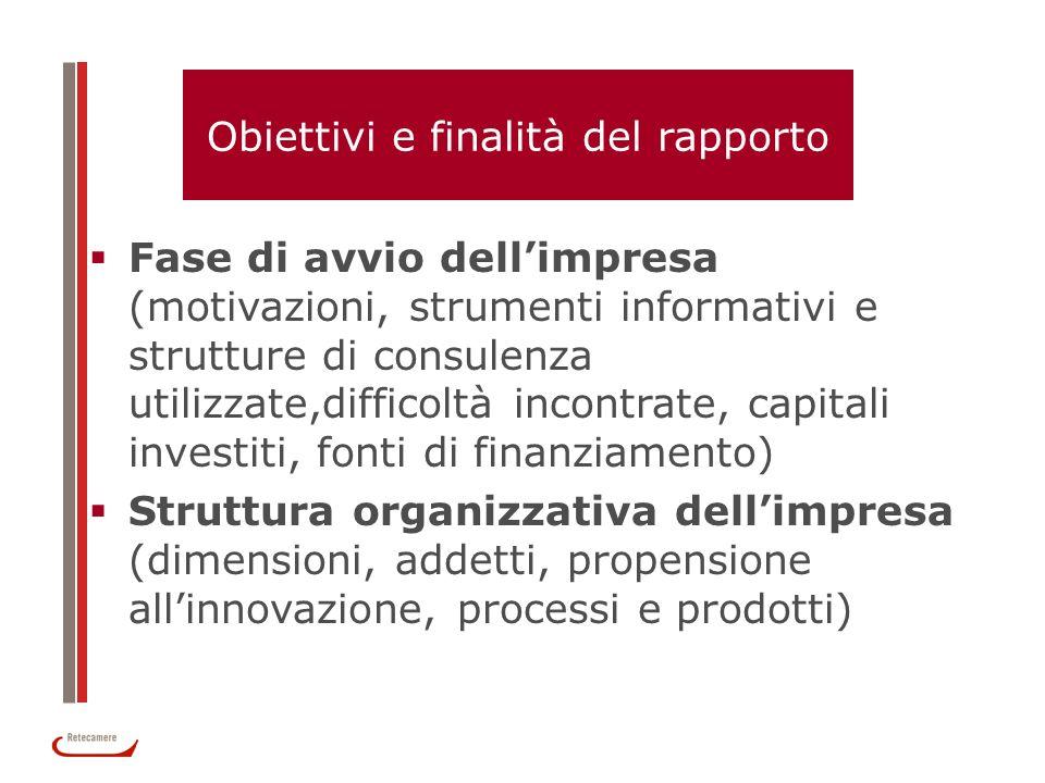 Obiettivi e finalità del rapporto