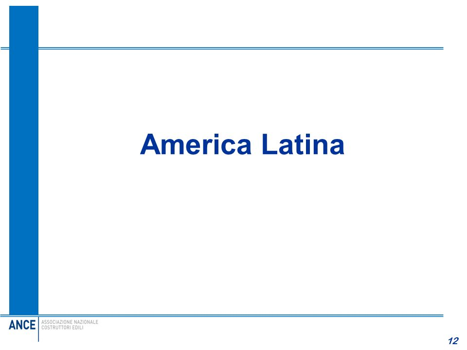 America Latina 12 12