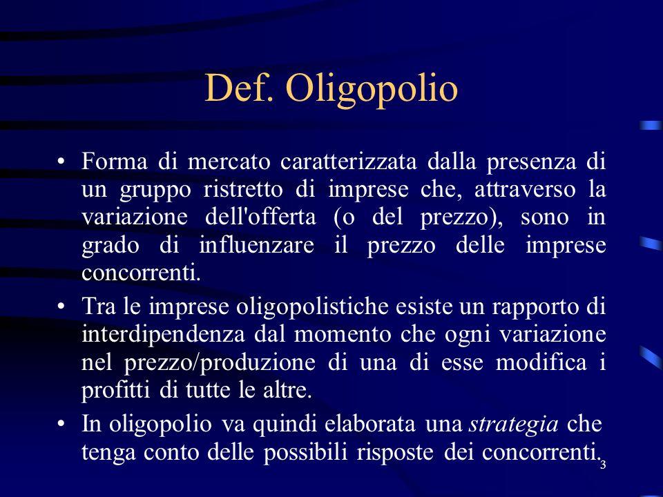 Def. Oligopolio
