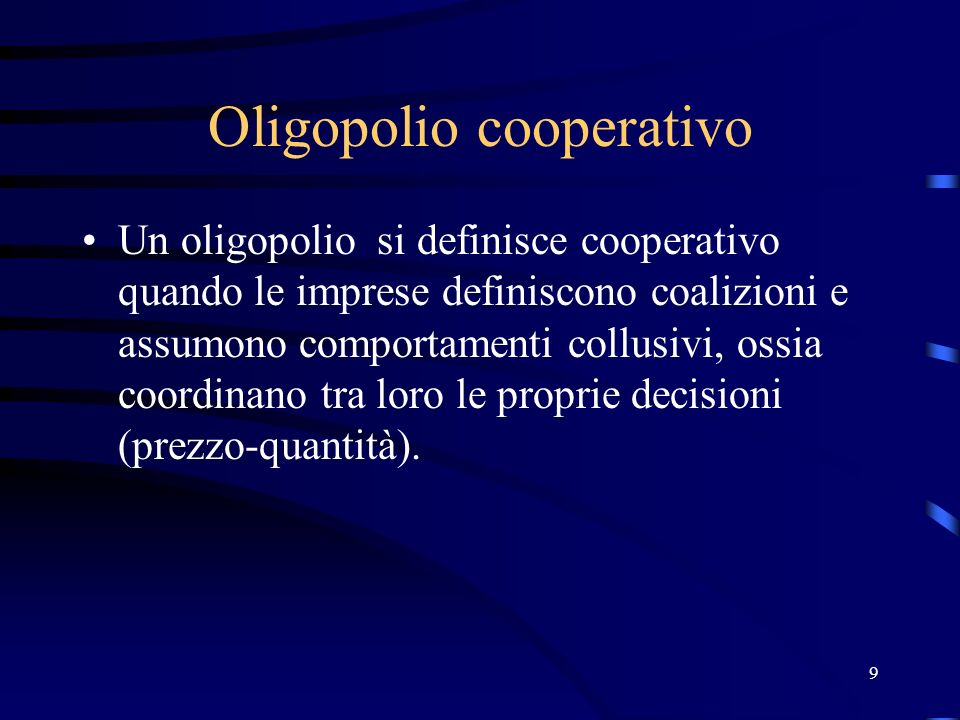 Oligopolio cooperativo