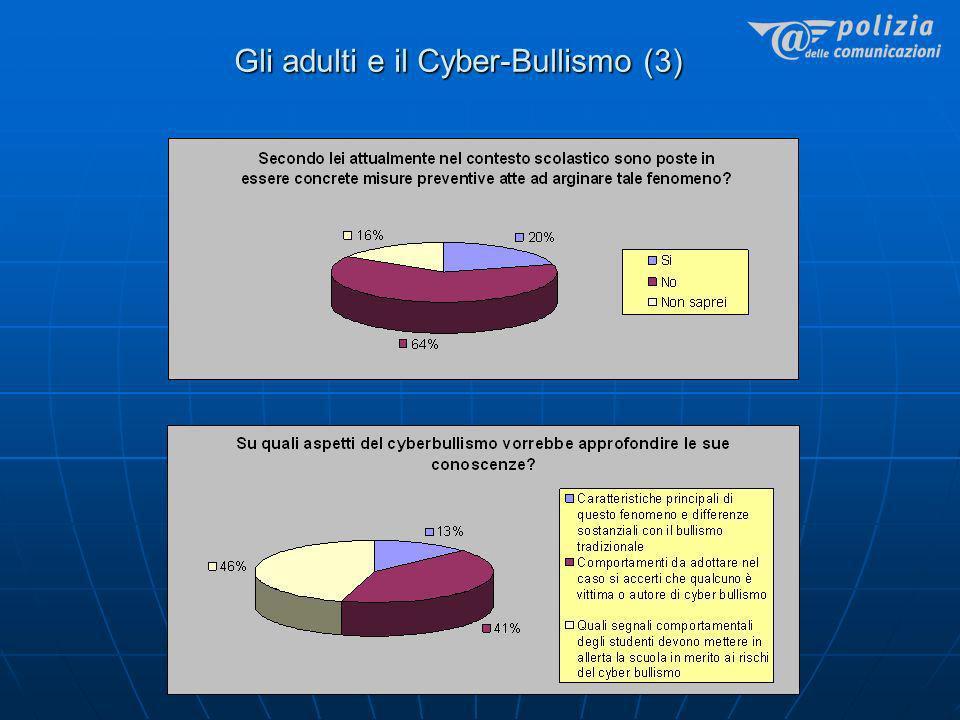 Gli adulti e il Cyber-Bullismo (3)