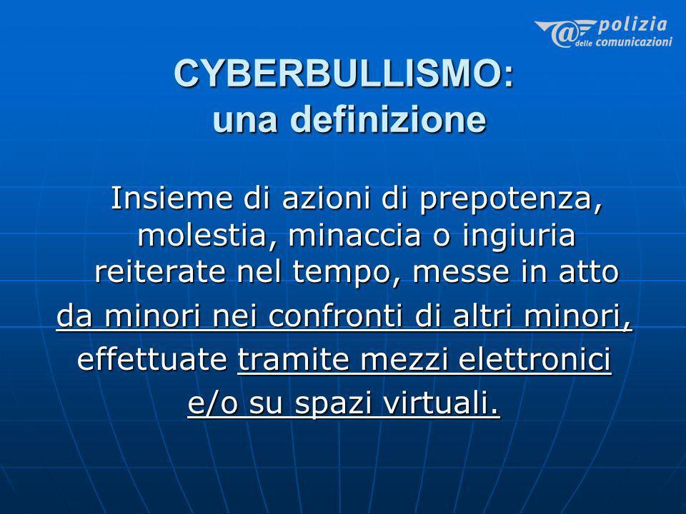 CYBERBULLISMO: una definizione