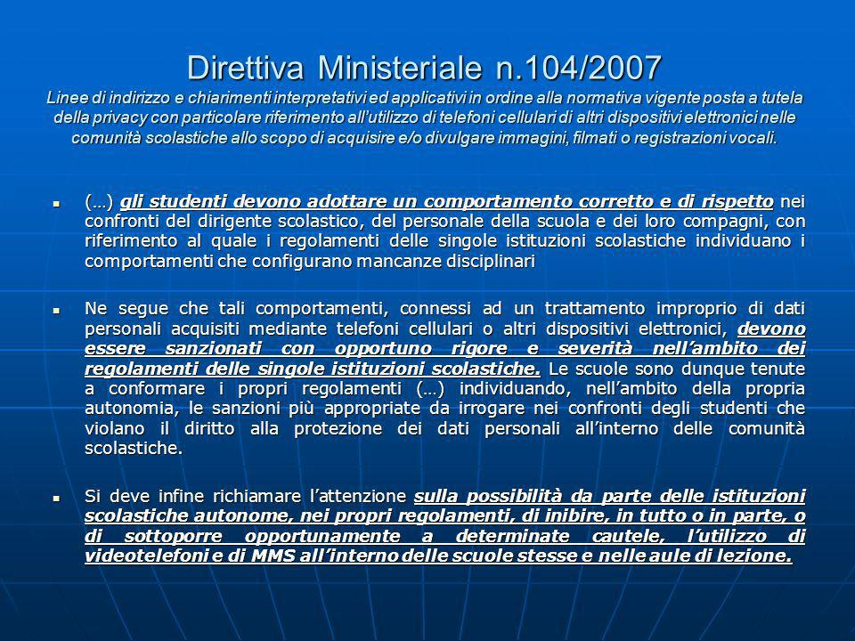 Direttiva Ministeriale n