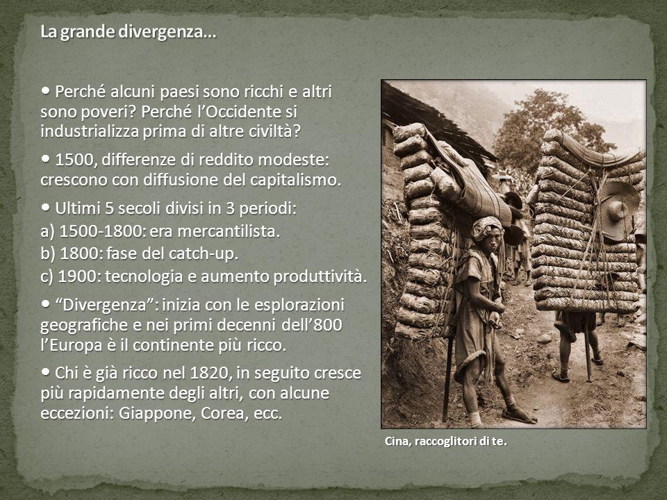 La grande divergenza…