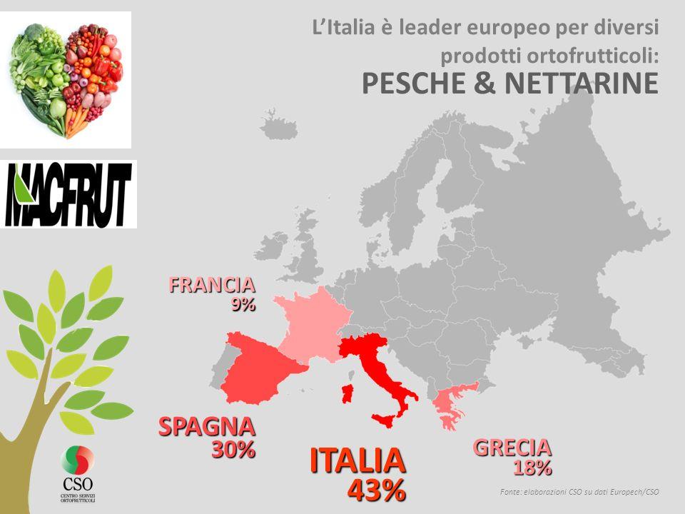 ITALIA PESCHE & NETTARINE SPAGNA GRECIA