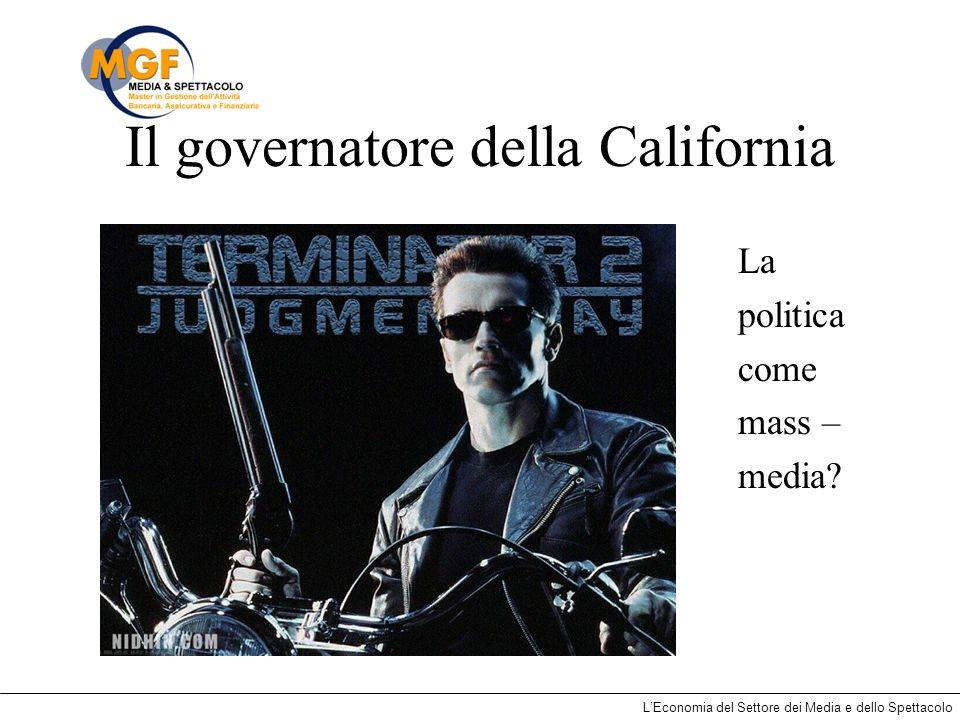 Il governatore della California