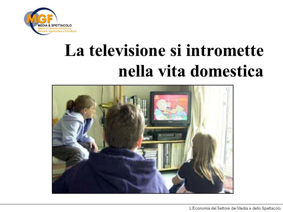 La televisione si intromette nella vita domestica