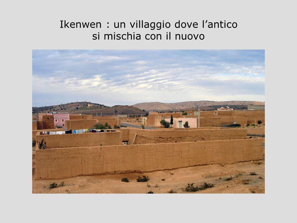 Ikenwen : un villaggio dove l'antico si mischia con il nuovo