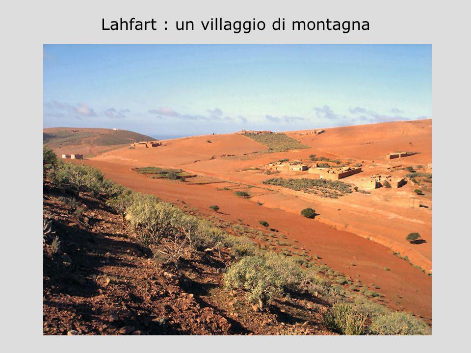 Lahfart : un villaggio di montagna