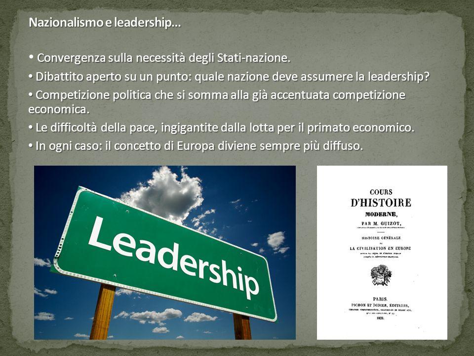 Nazionalismo e leadership…