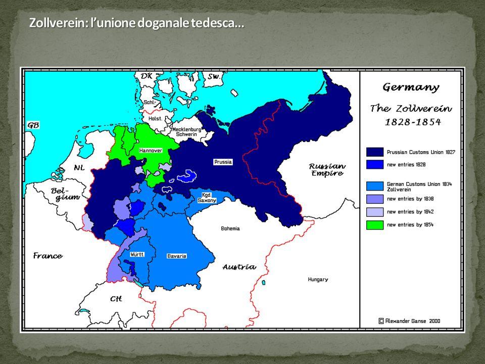 Zollverein: l'unione doganale tedesca…