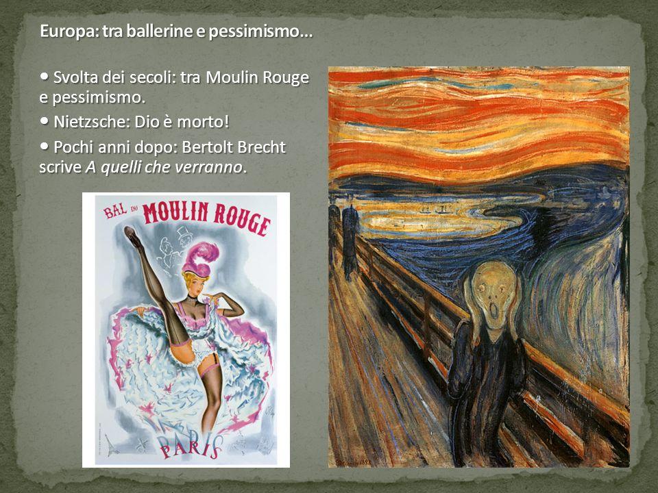 Europa: tra ballerine e pessimismo…