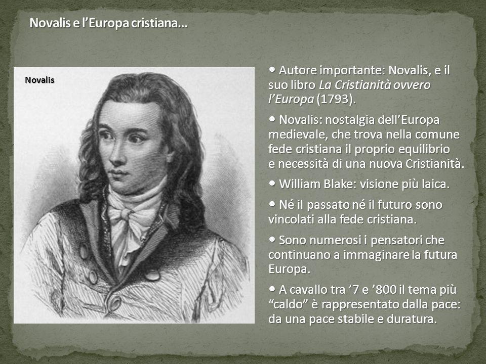 Novalis e l'Europa cristiana…