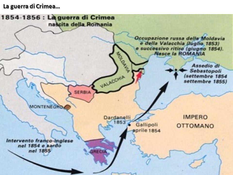 La guerra di Crimea…
