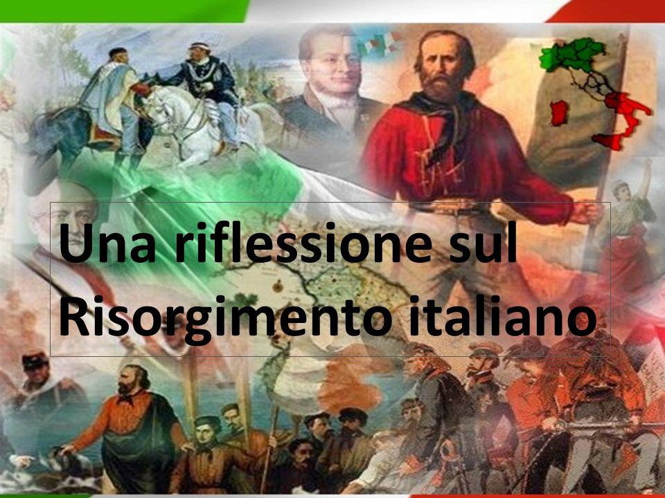 Una riflessione sul Risorgimento italiano