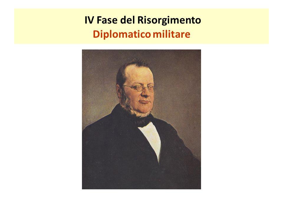 IV Fase del Risorgimento Diplomatico militare