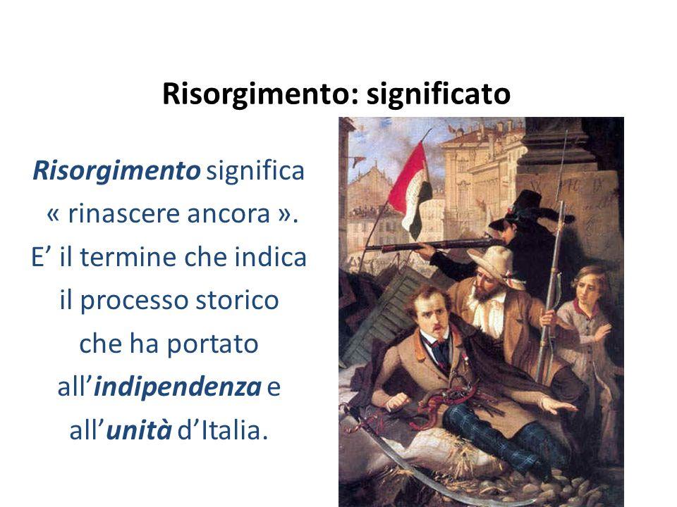 Risorgimento: significato