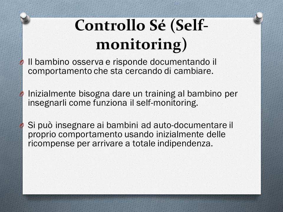 Controllo Sé (Self-monitoring)