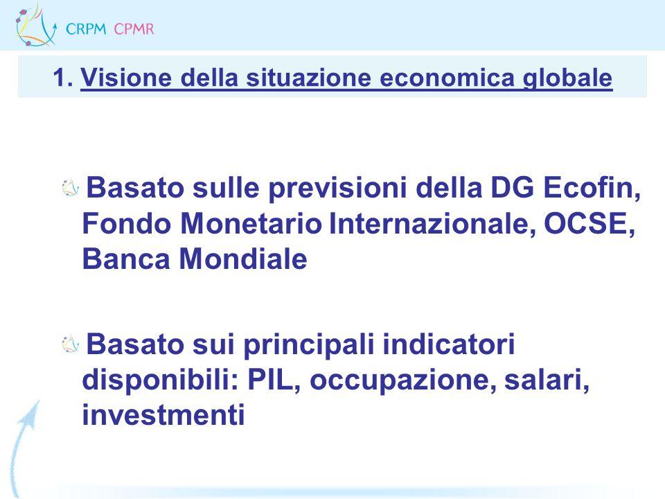 1. Visione della situazione economica globale