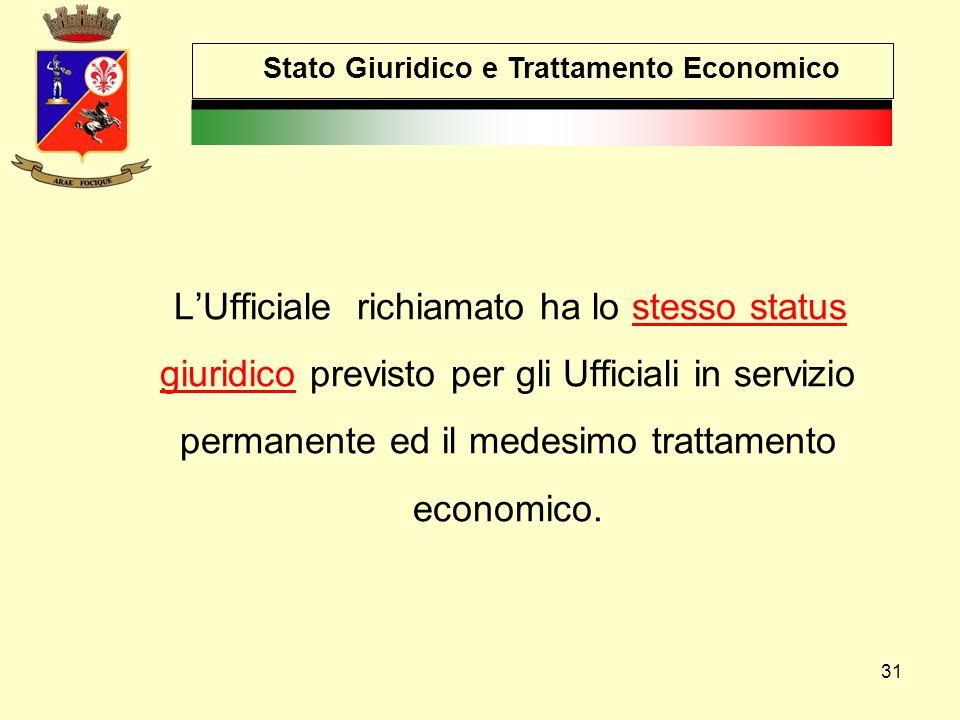 Stato Giuridico e Trattamento Economico