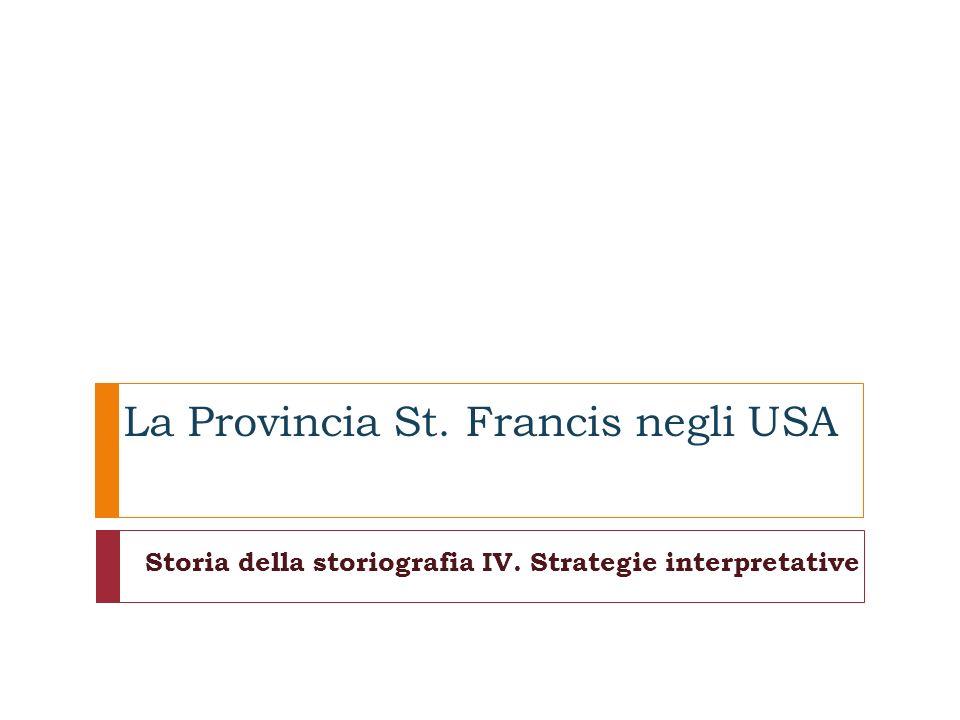 La Provincia St. Francis negli USA