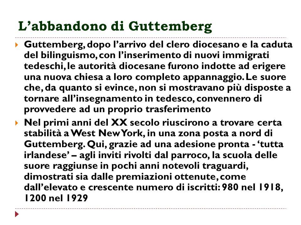 L'abbandono di Guttemberg