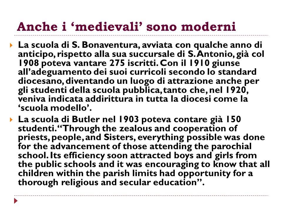 Anche i 'medievali' sono moderni
