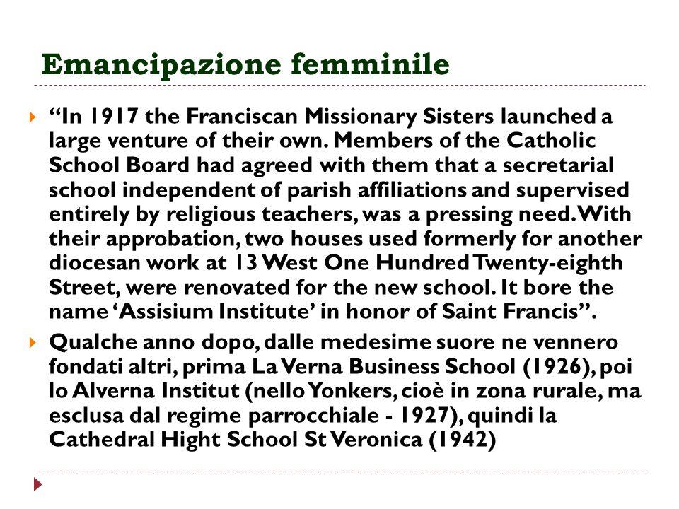 Emancipazione femminile