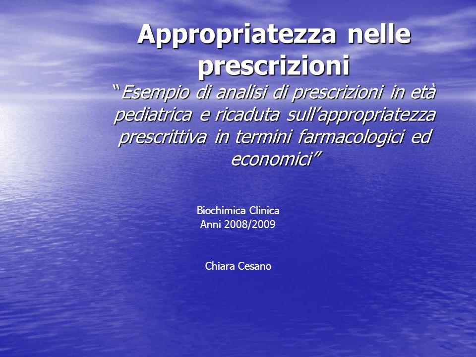 Biochimica Clinica Anni 2008/2009 Chiara Cesano