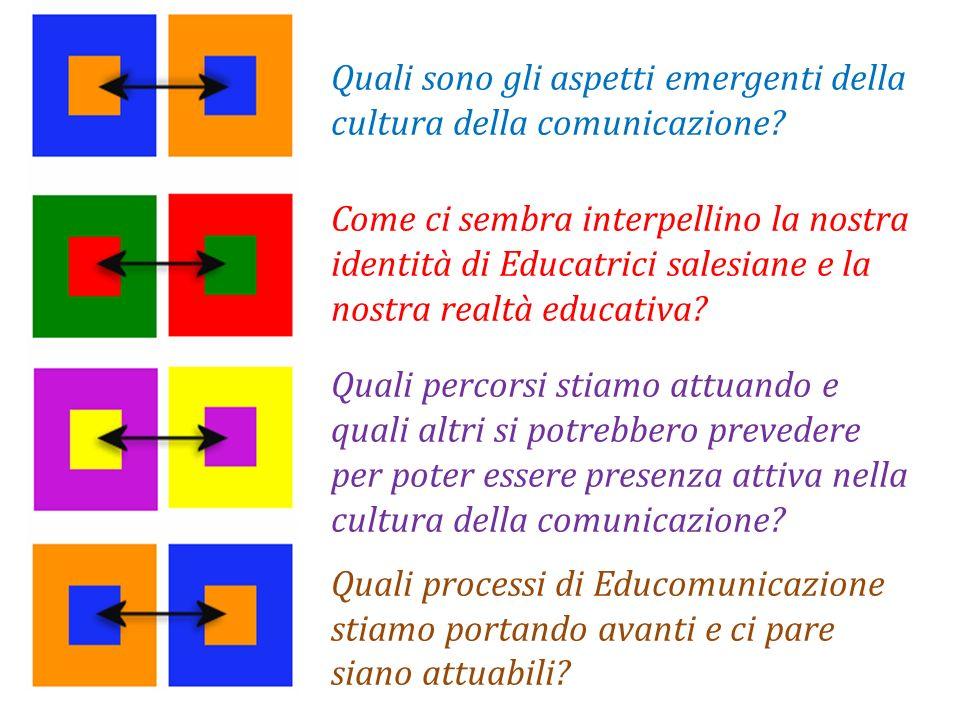 Quali sono gli aspetti emergenti della cultura della comunicazione