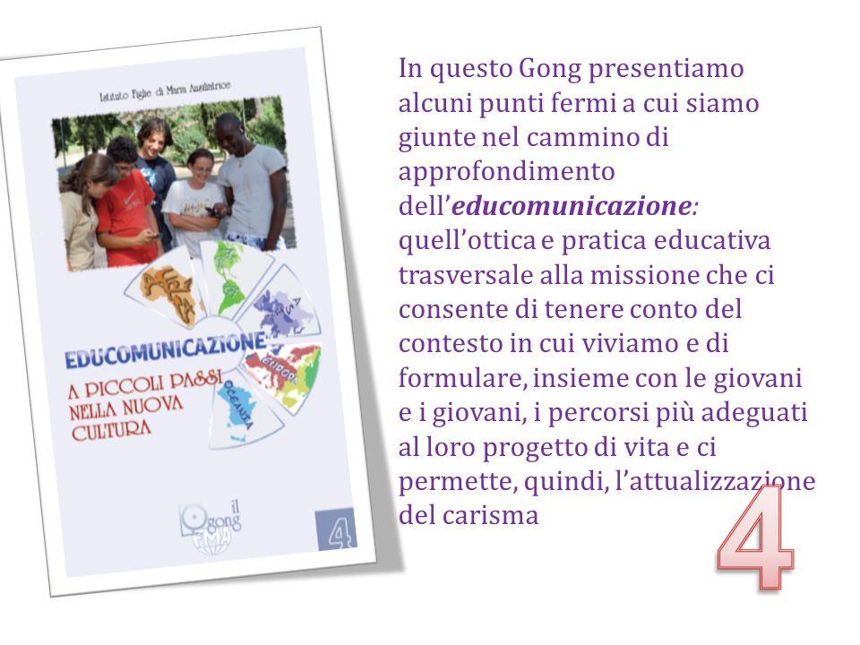 In questo Gong presentiamo alcuni punti fermi a cui siamo giunte nel cammino di approfondimento dell'educomunicazione: