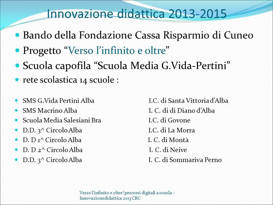 Innovazione didattica 2013-2015