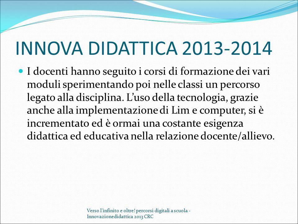 INNOVA DIDATTICA 2013-2014