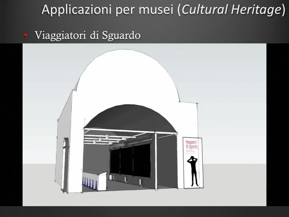 Applicazioni per musei (Cultural Heritage)
