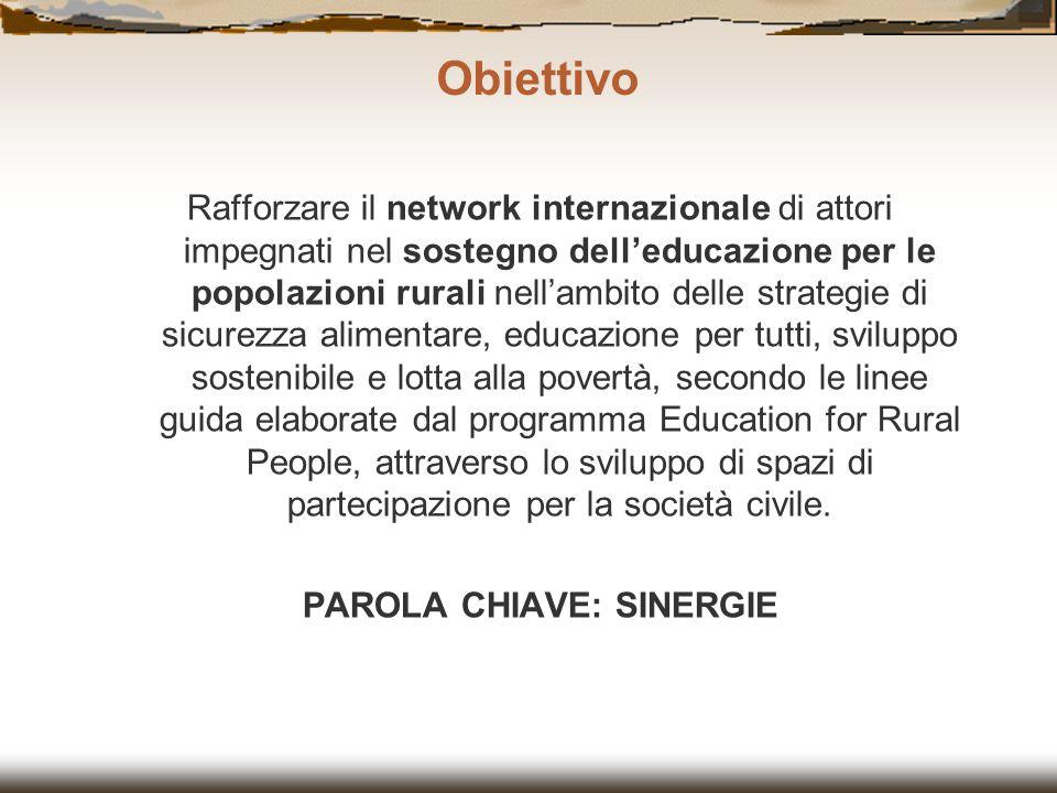 PAROLA CHIAVE: SINERGIE