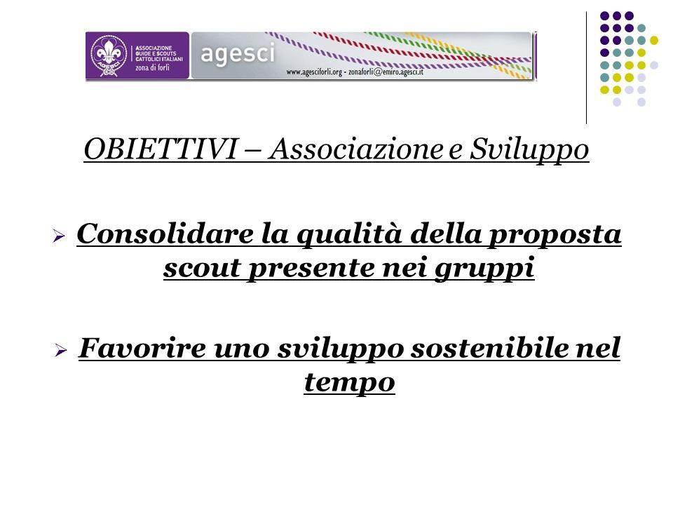 Consolidare la qualità della proposta scout presente nei gruppi