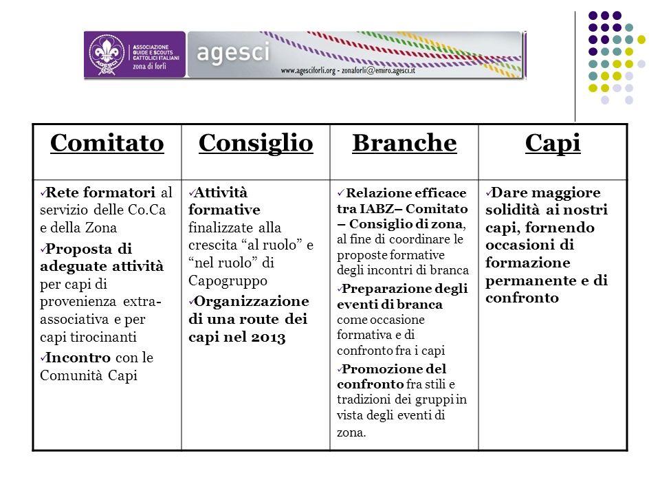 Comitato Consiglio Branche Capi