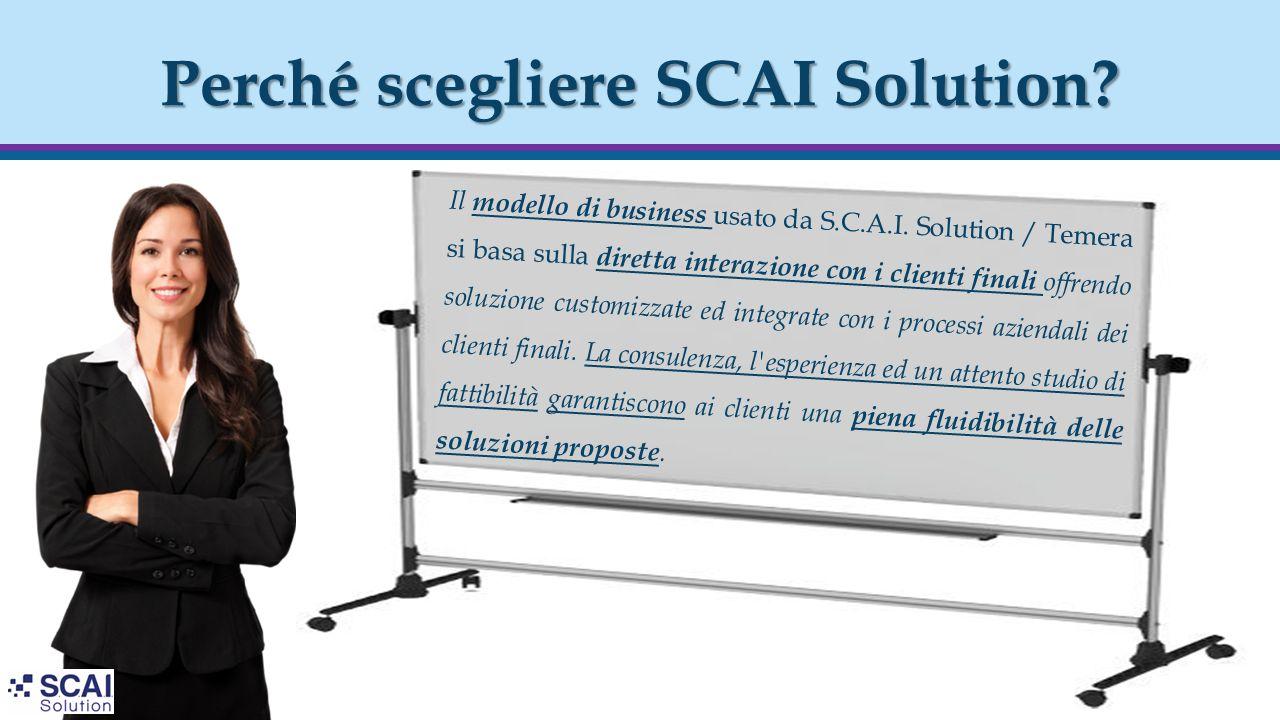 Perché scegliere SCAI Solution