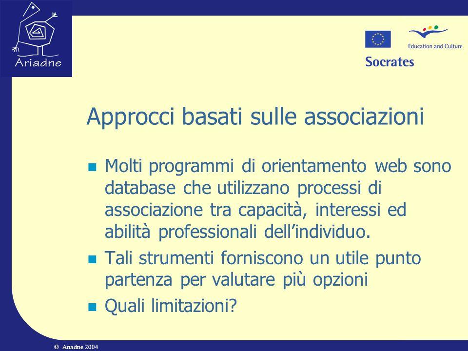 Approcci basati sulle associazioni