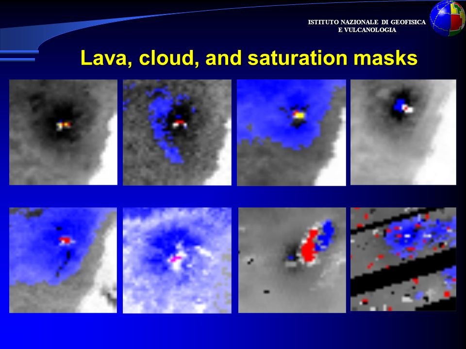Lava, cloud, and saturation masks